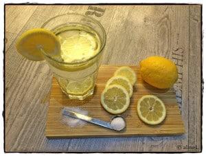 Wasser Zitrone