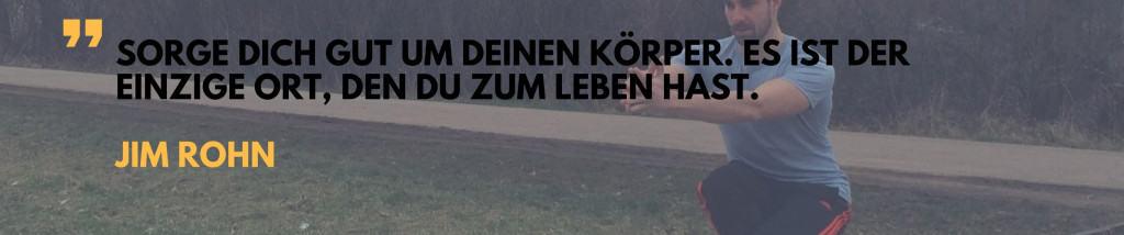 Zitat Frühsport
