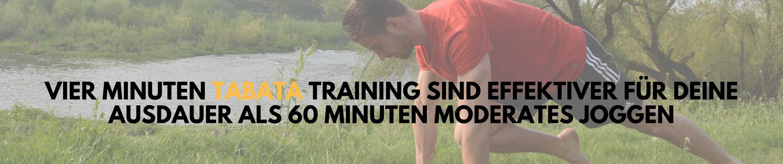 Tabata Übungen effektiv