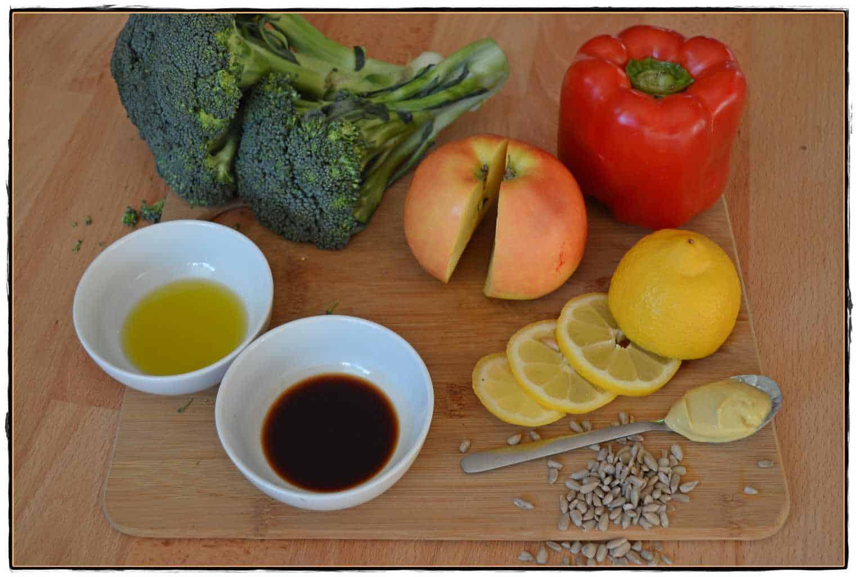schnelle Salate Brokkoli Zutaten
