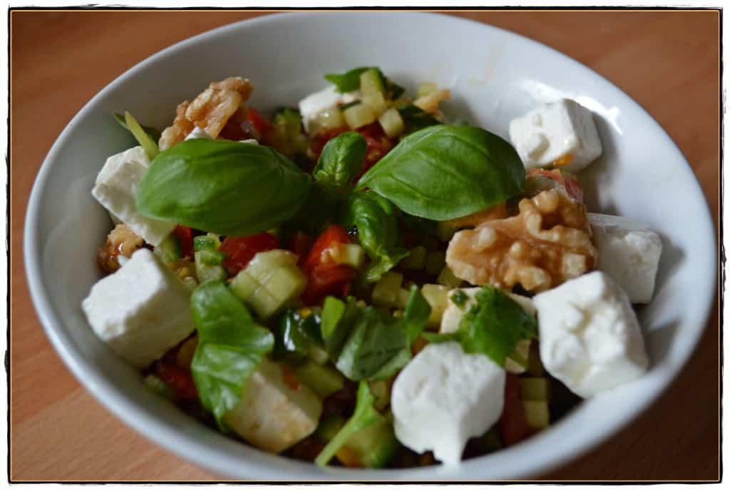 schneller Salat Nicer Dicer