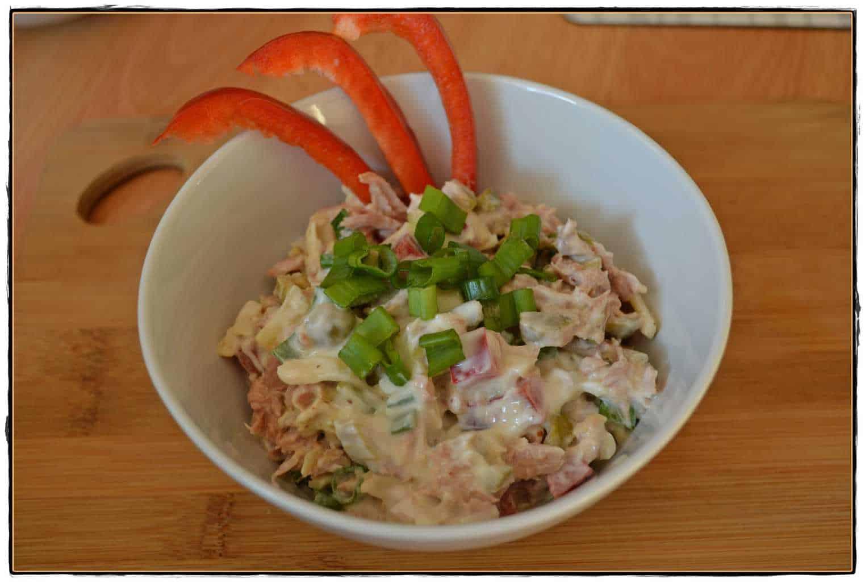 schneller Salat Thunfisch