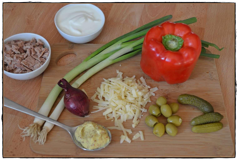 schneller Salat griechischer Salat