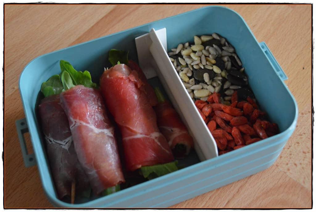 Gesunde Snacks Proteinreich
