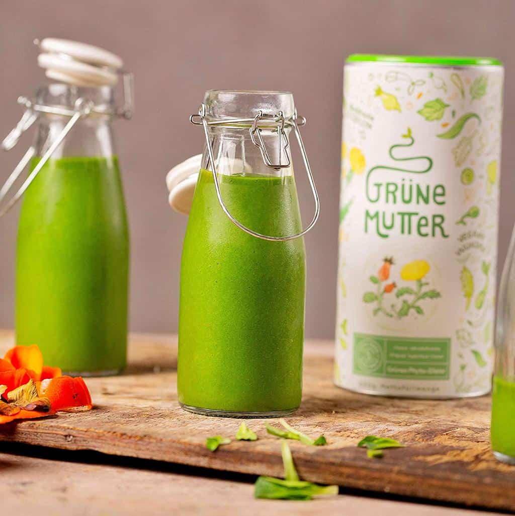 Grüne Mutter Superfood Pulver