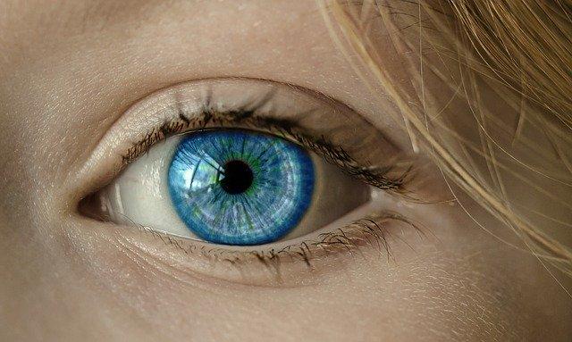Augen fit halten